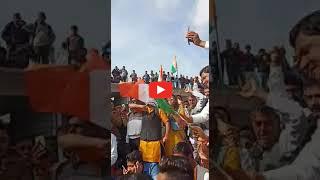 Video / राजगढ़ कलेक्टर निधि निवेदिता के विरोध में नारेबाजी करते आमजन
