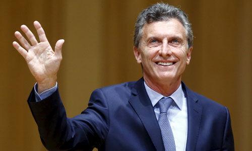 भारत आए अर्जेंटीना के राष्ट्रपति