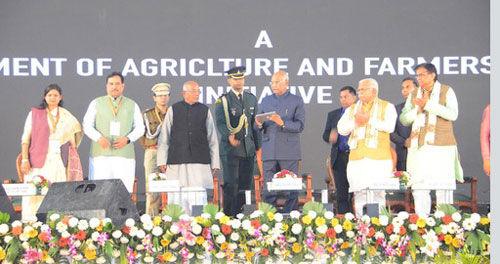 देश को कृषि नेतृत्व प्रदान कर सकता है हरियाणा