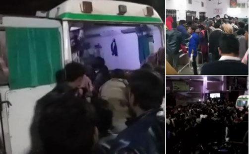 प्रतापगढ़ : दर्दनाक सड़क हादसे में 10 बरातियों की मौत , दो दर्जन से ज्यादा घायल