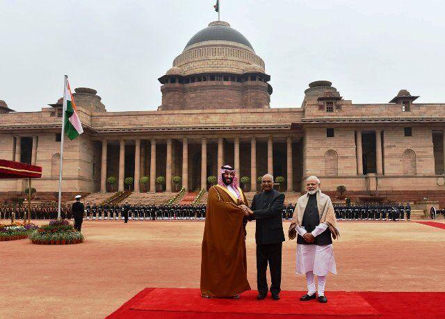 सऊदी अरब युवराज के सम्मान में दिए भाषण में बहुत कुछ गए प्रधानमंत्री मोदी