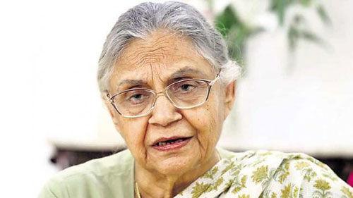 कांग्रेस के विकास कार्यों को याद कर रही है जनता : शीला दीक्षित