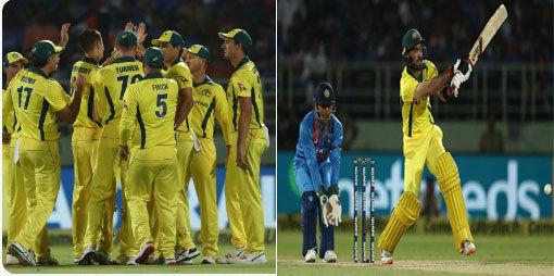 INDvsAUS : ऑस्ट्रेलिया ने भारत को 3 विकटों से हराया
