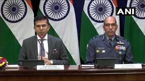 पाकिस्तान ने हमारे सैन्य संस्थानों को निशाना बनाने का प्रयास किया : विदेश मंत्रालय