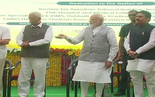 56 का नाम सुनकर ही कांग्रेस की नींद उड़ जाती है : प्रधानमंत्री मोदी