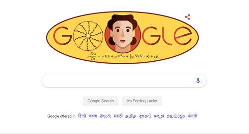 गूगल ने महान गणितज्ञ ओल्गा लैडिजेनस्काया को किया याद