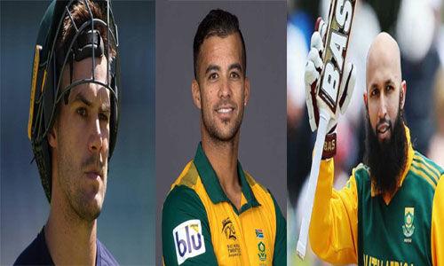 एडेन मार्कराम, जेपी डुमिनी और हाशिम अमला की दक्षिण अफ्रीकी टीम में वापसी