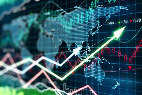 सेंसेक्स 460 अंक उछला, शेयर बाजार गुलजार