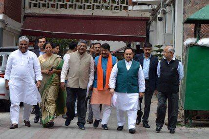 भाजपा ने आयोग से की राहुल की शिकायत, पश्चिम बंगाल को संवेदनशील राज्य घोषित करने की मांग