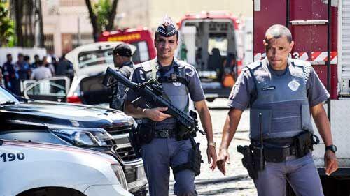 ब्राजील के स्कूल में गोलीबारी, हमलावर समेत 10 की मौत