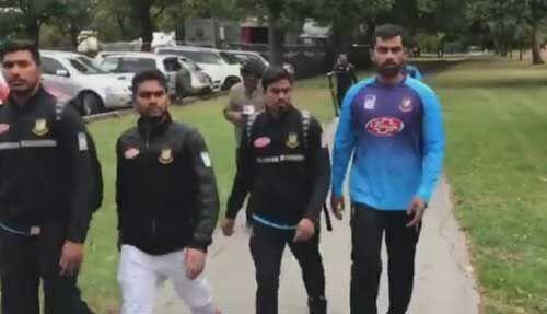क्राइस्टचर्च आतंकी हमले में बाल-बाल बचे बांग्लादेशी क्रिकेटर