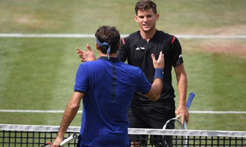 इंडियन वेल्स टेनिस टूर्नामेंट के खिताबी मुकाबले में फेडरर का सामना थीम से