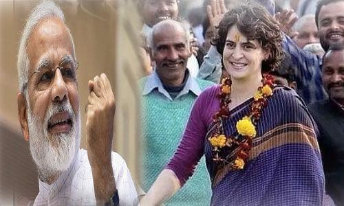 अब पूर्वांचल में मोदी मैजिक और प्रियंका के ग्लैमर में सीधी टक्कर, काशी में चुनावी रंग गाढ़ा