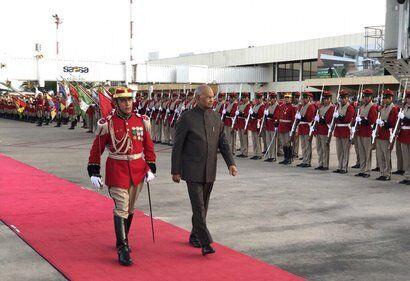 बोलीविया जाने वाले भारत के पहले राष्ट्रपति बने रामनाथ कोविंद
