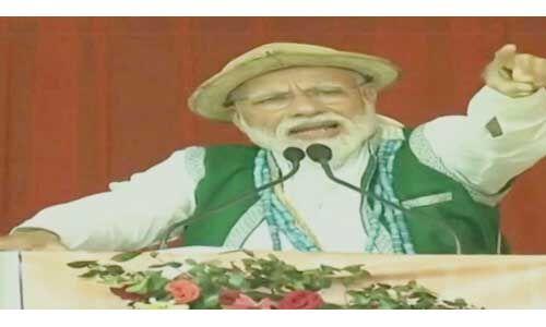 प्रधानमंत्री नरेन्द्र मोदी ने 25 साल का काम पूरा करने के लिए मांगा महज पांच साल