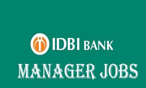 आईडीबीआई बैंक में निकली भर्ती