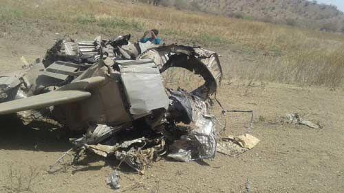 सेना का लड़ाकू विमान मिग 27 दुर्घटनाग्रस्त, पायलट सुरक्षित