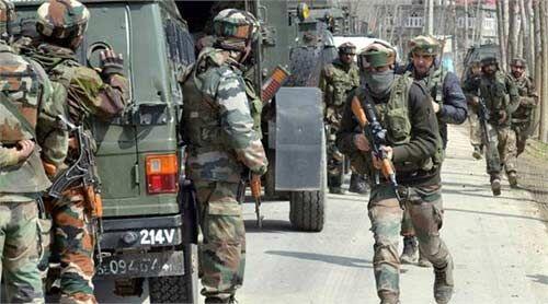 पुलवामा में सुरक्षाबलों ने चार आतंकियों को किया ढेर