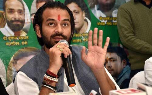 जहानाबाद व शिवहर लोस सीट पर मैं उतारूंगा उम्मीदवार : तेजप्रताप