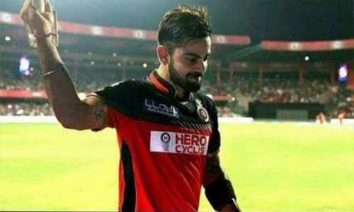 आईपीएल : कोहली ने बैंगलोर के लिए खेला 100वां मुकाबला