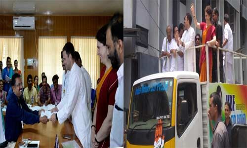 राहुल गांधी ने वायनाड सीट से भरा नामांकन, अब प्रियंका के साथ कर रहे मेगा रोड-शो