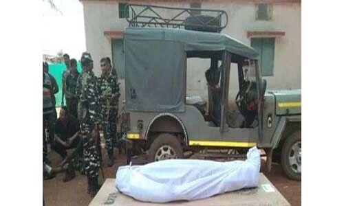 नक्सली मुठभेड़ में सीआरपीएफ का जवान शहीद, दूसरा घायल