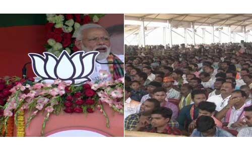 प्रधानमंत्री मोदी का कांग्रेस पर हमला: हम परिवार और पैसों पर आधारित पार्टी नहीं हैं