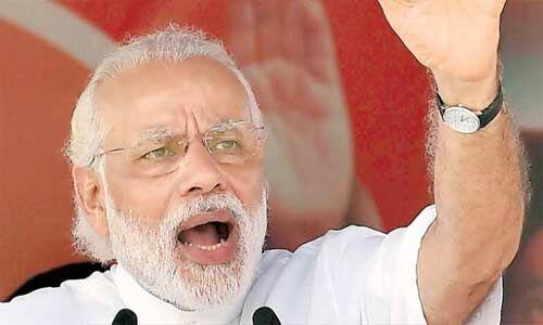 देश को मजबूर नहीं, मजबूत सरकार चाहिए : पीएम मोदी