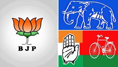 #UPByElectionResults2019 : भाजपा 6, SP 2 और बसपा-कांग्रेस 1 सीटों पर आगे