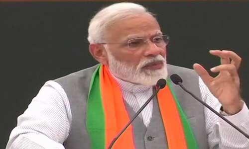 बीजेपी का संकल्प पत्र जारी होने पर प्रधानमंत्री ने कहा - सरकार एक लक्ष्य और एक दिशा के साथ आगे बढ़ें