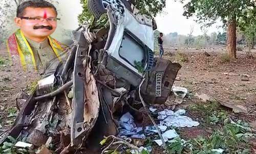 दंतेवाड़ा : नक्सली हमले में 3 जवान शहीद, ड्राइवर सहित MLA की मौत