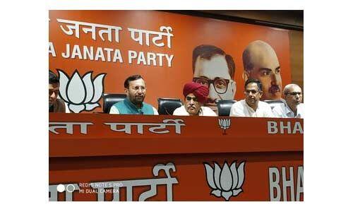 भाजपा में शामिल हुए गुर्जर आंदोलन के नेता कर्नल किरोड़ी सिंह बैंसला