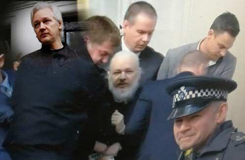 जूलियन असांजे को ब्रिटिश पुलिस ने लंदन से किया गिरफ्तार