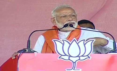 कांग्रेस ने असम की जनता को जरूरी सुविधाओं से महरूम रखा, अब उनका चौकीदार ऐसा नही होने देगा : प्रधानमंत्री मोदी