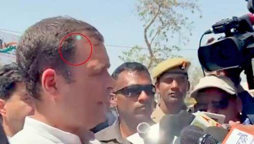 राहुल की सुरक्षा में नहीं हुई चूक : गृह मंत्रालय