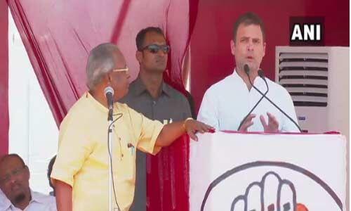 कांग्रेस के सत्ता में आने के बाद सरकार में खाली पड़े 24 लाख पदों को भरा जाएगा : राहुल गांधी