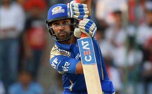 रोहित ने बल्लेबाजी करते समय की अजीब हरकत, हंस पड़ा पूरा स्टेडियम