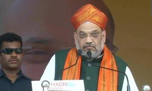 देश सुरक्षित रखना है तो केंद्र में भाजपा की सरकार लानी होगी: अमित शाह