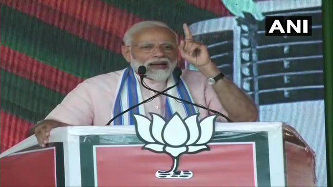 धोखाधड़ी में कांग्रेस ने की है पीएचडी : प्रधानमंत्री