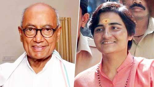 साध्वी प्रज्ञा सिंह ने ली भाजपा की सदस्यता, भोपाल से दिग्विजय के खिलाफ लडेंगी चुनाव