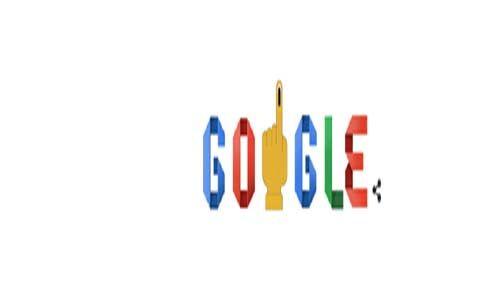 गूगल का पांचवीं बार चुनाव पर डूडल