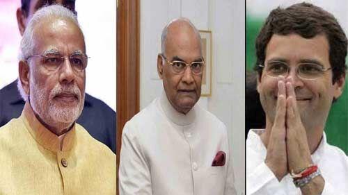 राष्ट्रपति और प्रधानमंत्री सहित राहुल ने दी ईस्टर की बधाई