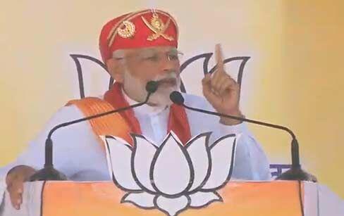 नए भारत बनाने के लिए लोग इतनी गर्मी में बैठे हैं : प्रधानमंत्री