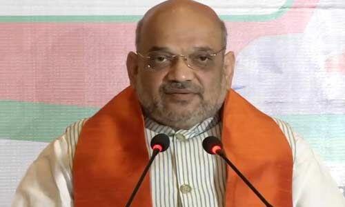 राष्ट्र की सुरक्षा के लिए भाजपा संकल्पित, खत्म करेंगे आतंकवाद और धारा 370 : अमित शाह