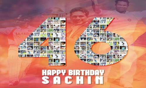 क्रिकेट के भगवान कहे जाने वाले सचिन मना रहे है 46वां जन्मदिन