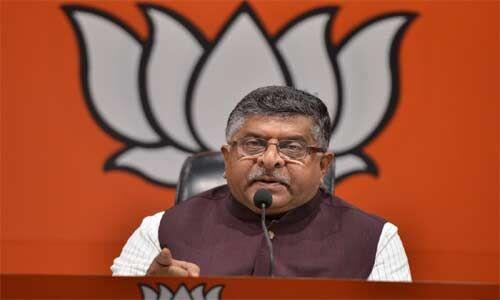 इंडियाज डिवाइडर इन चीफ पर रविशंकर प्रसाद ने कड़ी प्रतिक्रिया