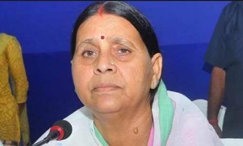 नरेंद्र मोदी बिहार आकर भाषाई आतंक फैलाने की कोशिश कर रहे हैं : राबड़ी देवी