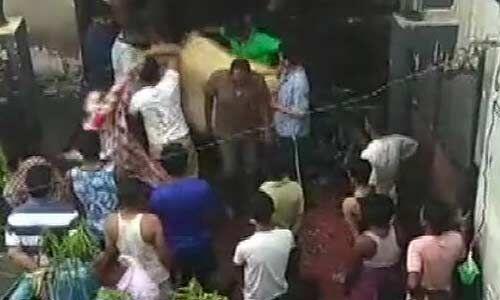 लखनऊ: शॉर्ट सर्किट से लगी भीषण आग, एक परिवार के 5 सदस्यों की मौत