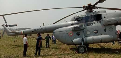 पीएम की रैली में जा रहे हेलीकॉप्टर में तकनीकी खराबी, प्रतापगढ़ में इमरजेंसी लैंडिंग