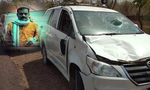खजुराहो से भाजपा उम्मीदवार वीडी शर्मा सड़क हादसे में घायल